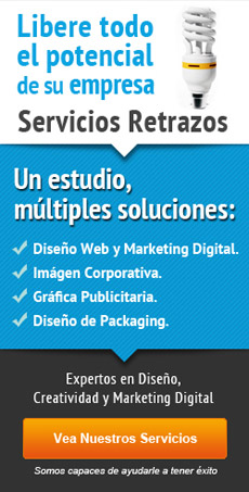 Servicios retrazos - Diseño web, creatividad, marketing digital
