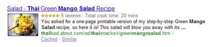 Cocinando con Google (II)