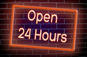 Abierto 24 horas